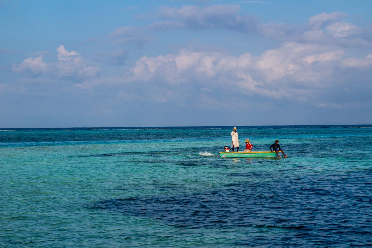 Pescadores en Maafushi