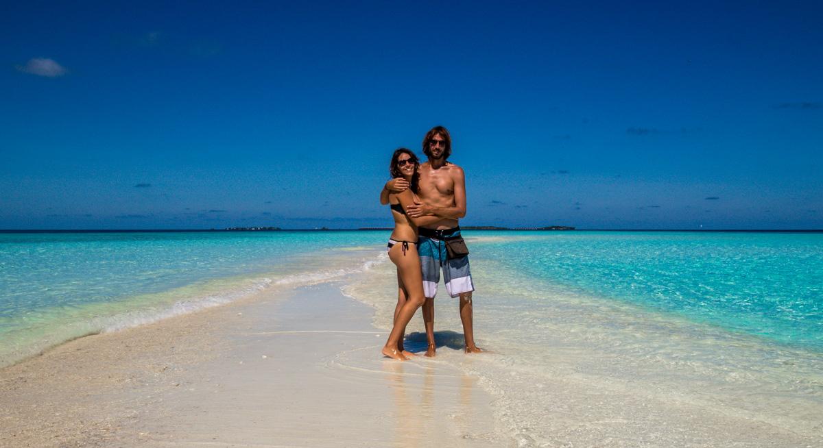 Felices en el sandbank