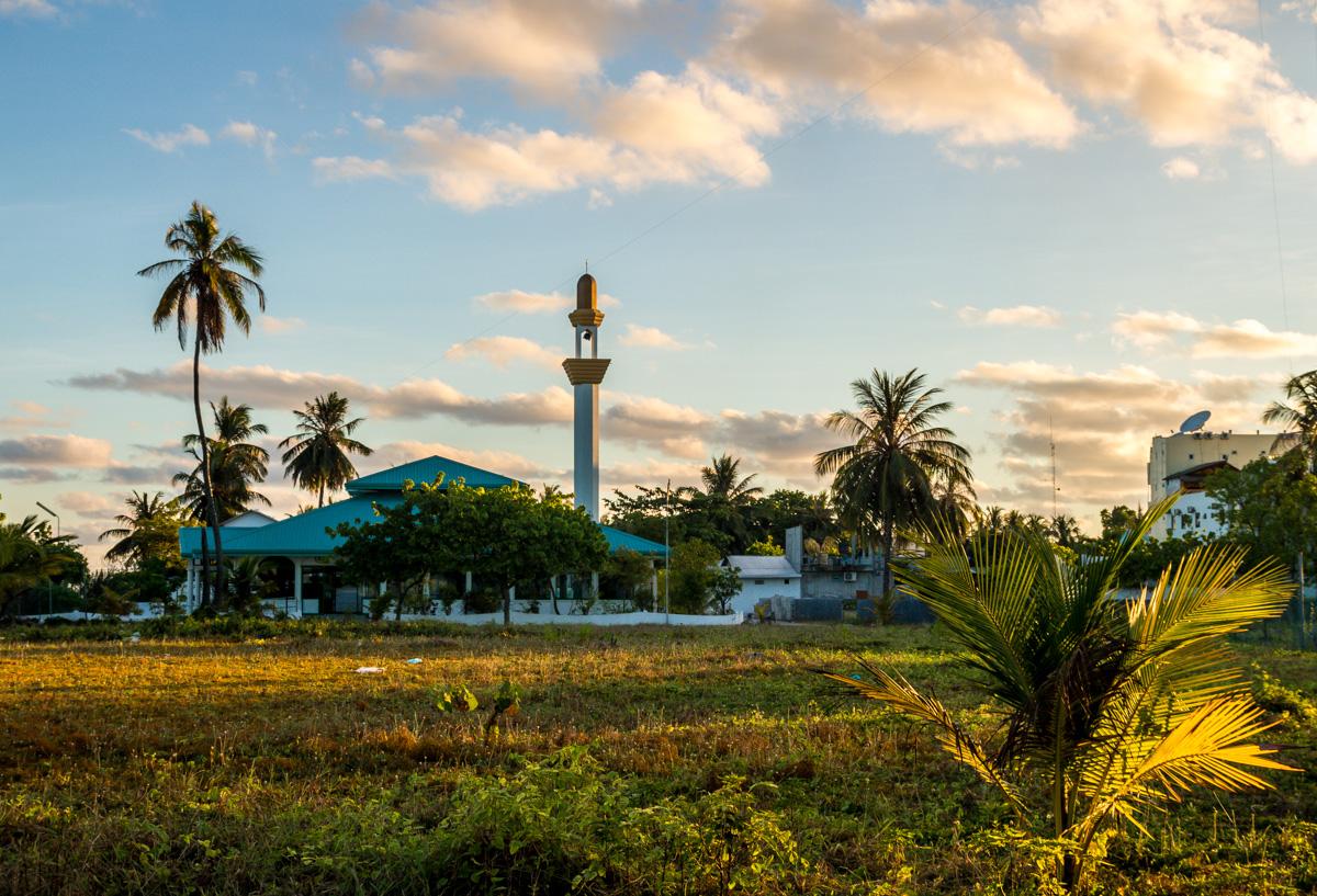 Mezquita en Maafushi
