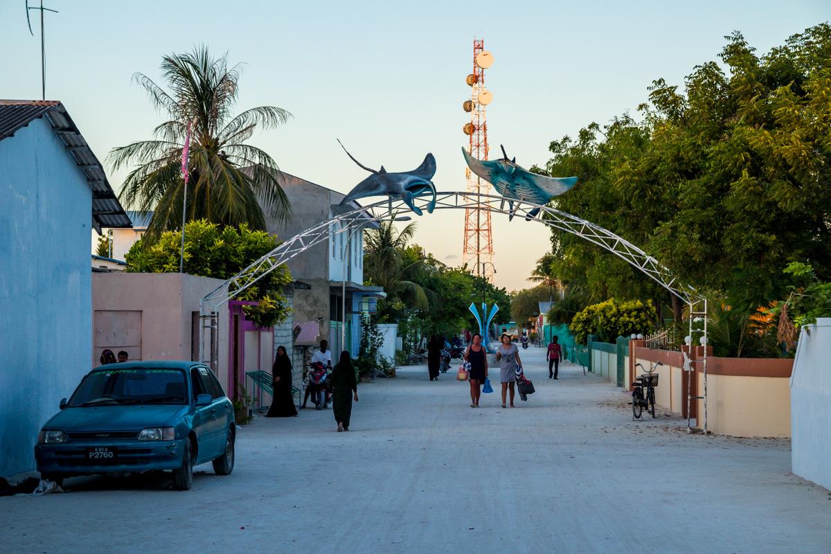 Las mantas rayas te observan, Maafushi