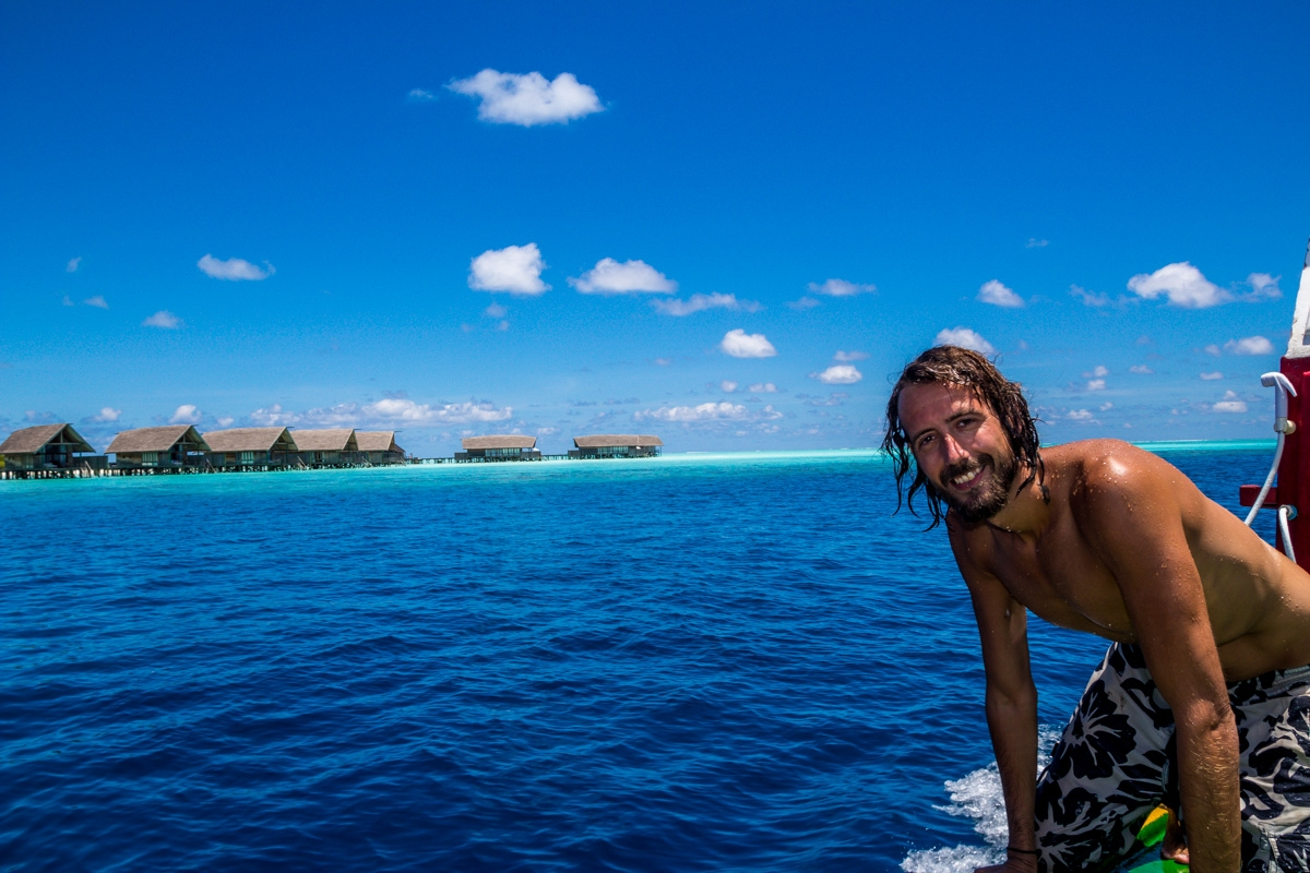 Esto es lo más cerca que estaré de un resort en Maldivas