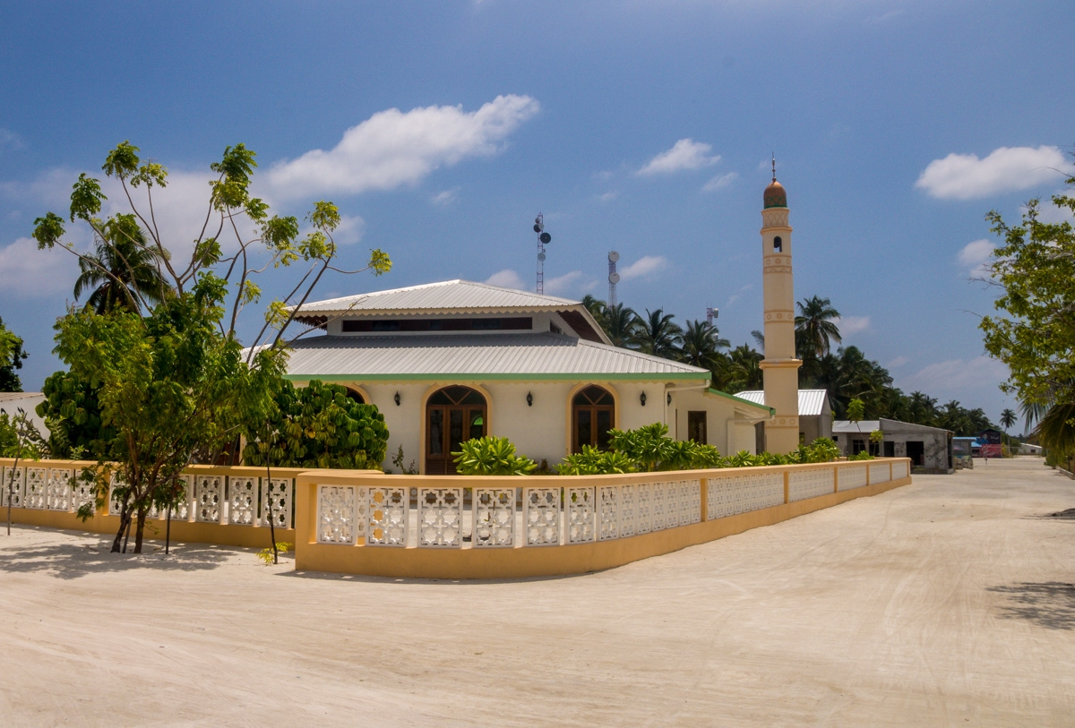La mezquita de Kaashidhoo