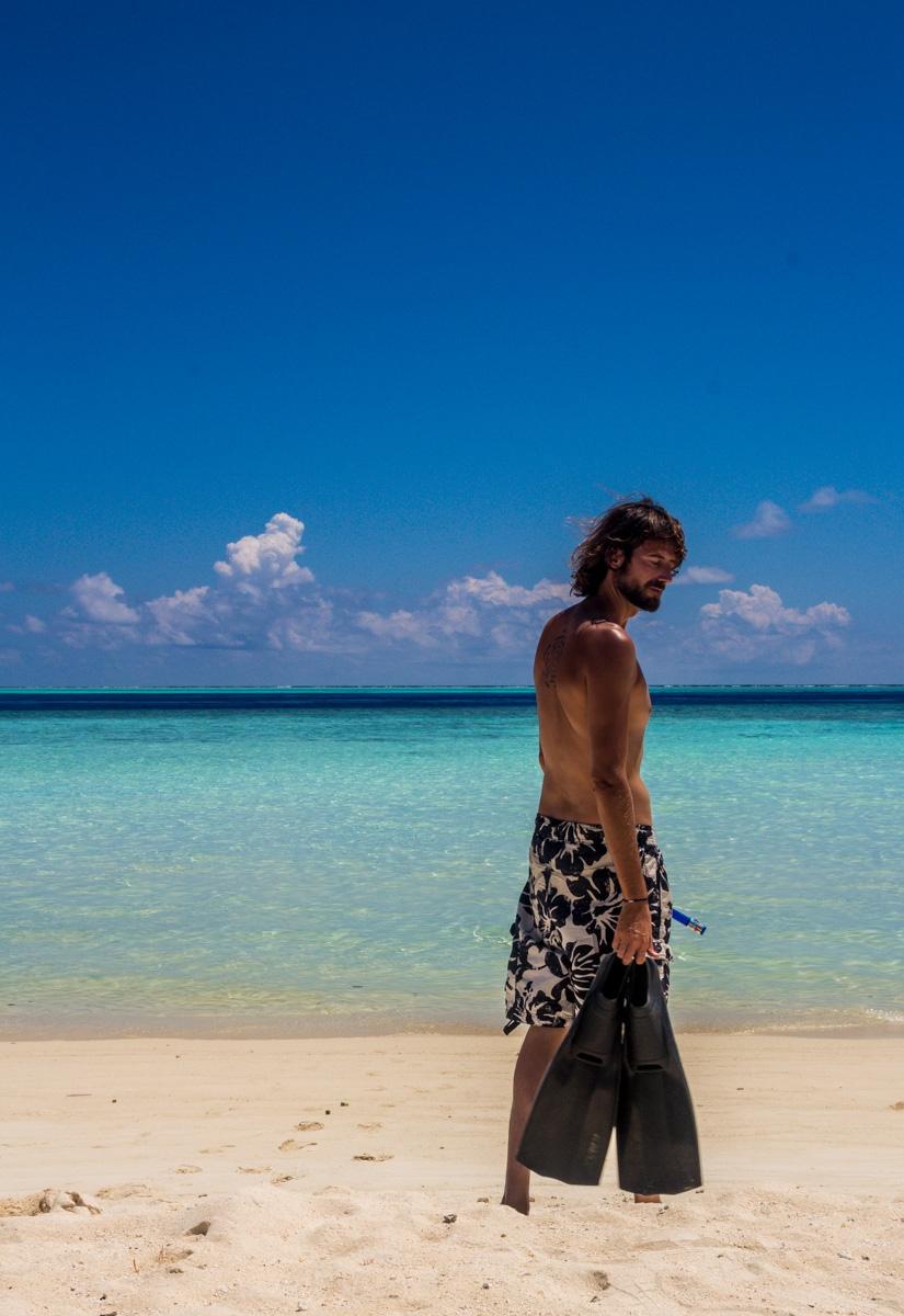 A por el snorkel en Gulhi