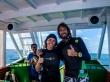 A punto de saltar al agua, Maafushi