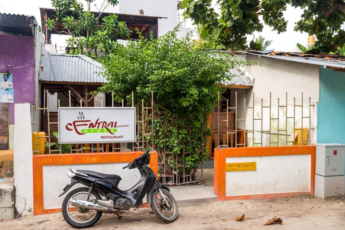 Uno de los restaurantes de Ukulhas