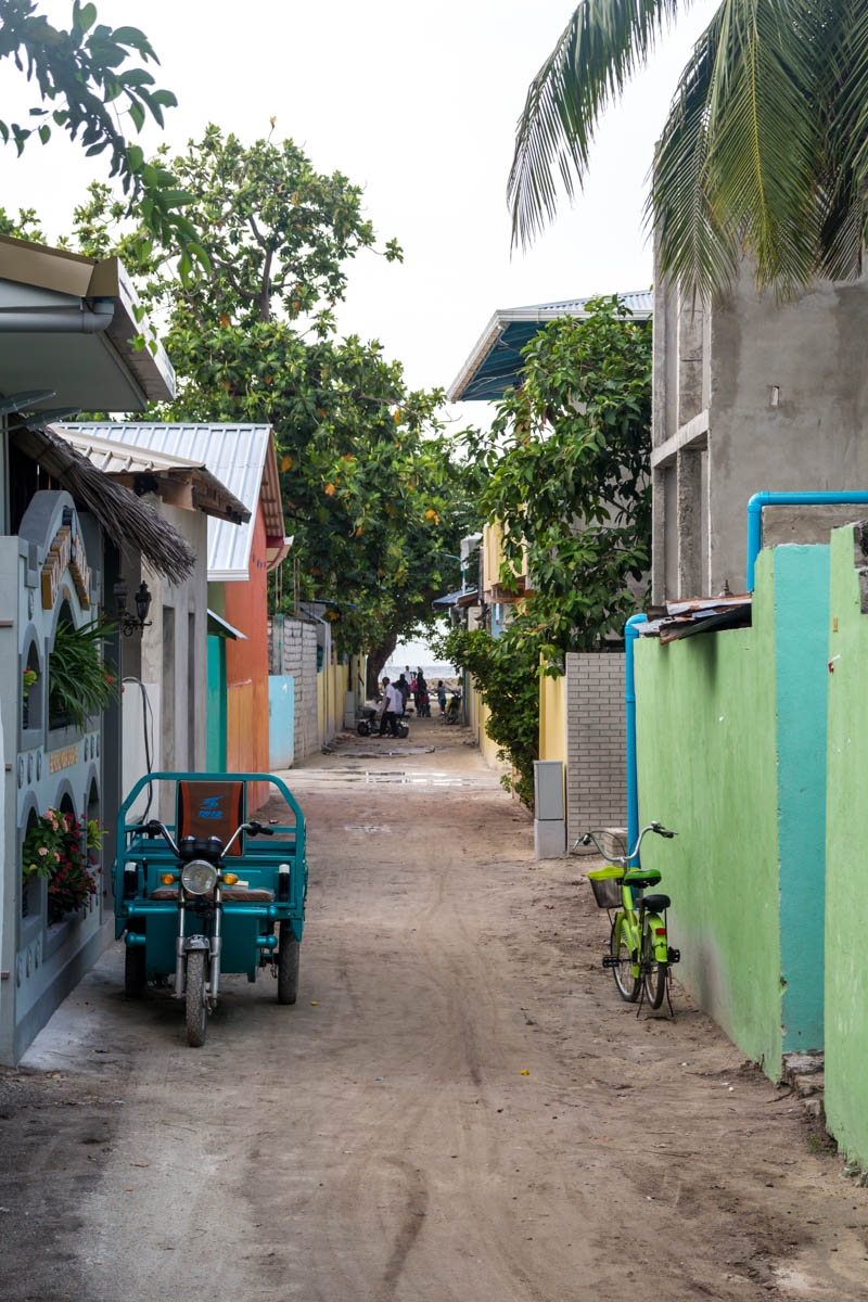 Callejuelas de la isla, Ukulhas