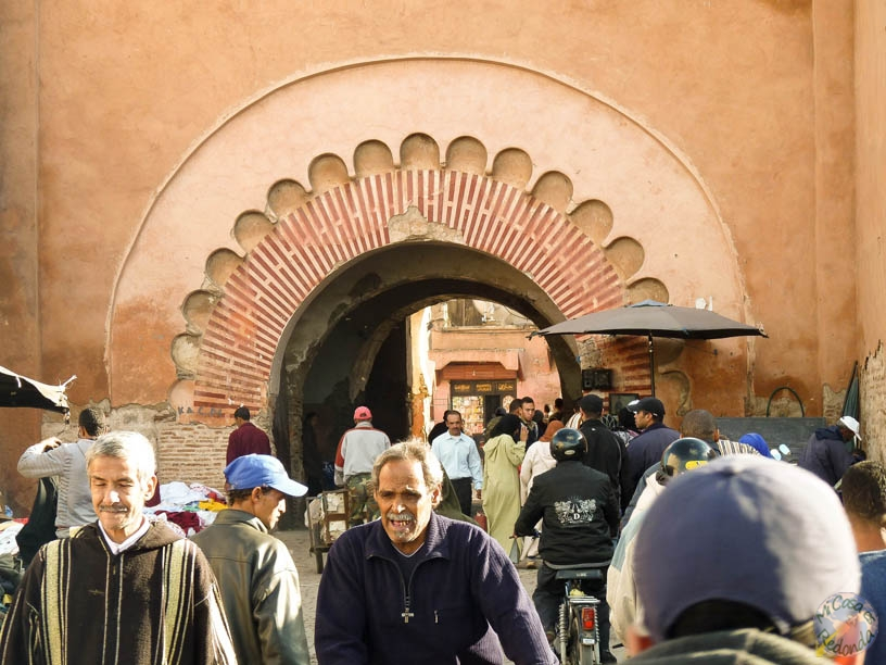 La puerta más antigua de la Medina, Marrakech