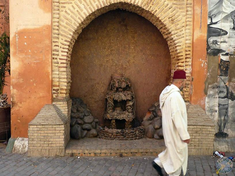 Cerca de la Madraza Ben Youssef