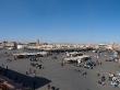 Plaza Djemaa El Fna, en la Fiesta del Cordero