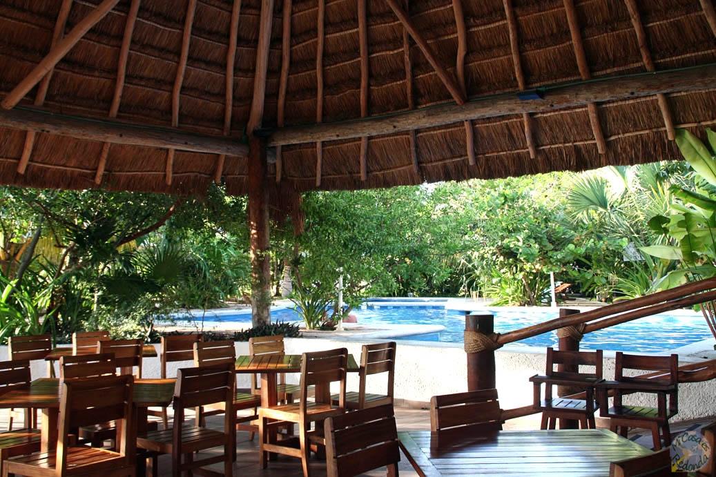 Nuestro hostel de Cancún, todo lujo