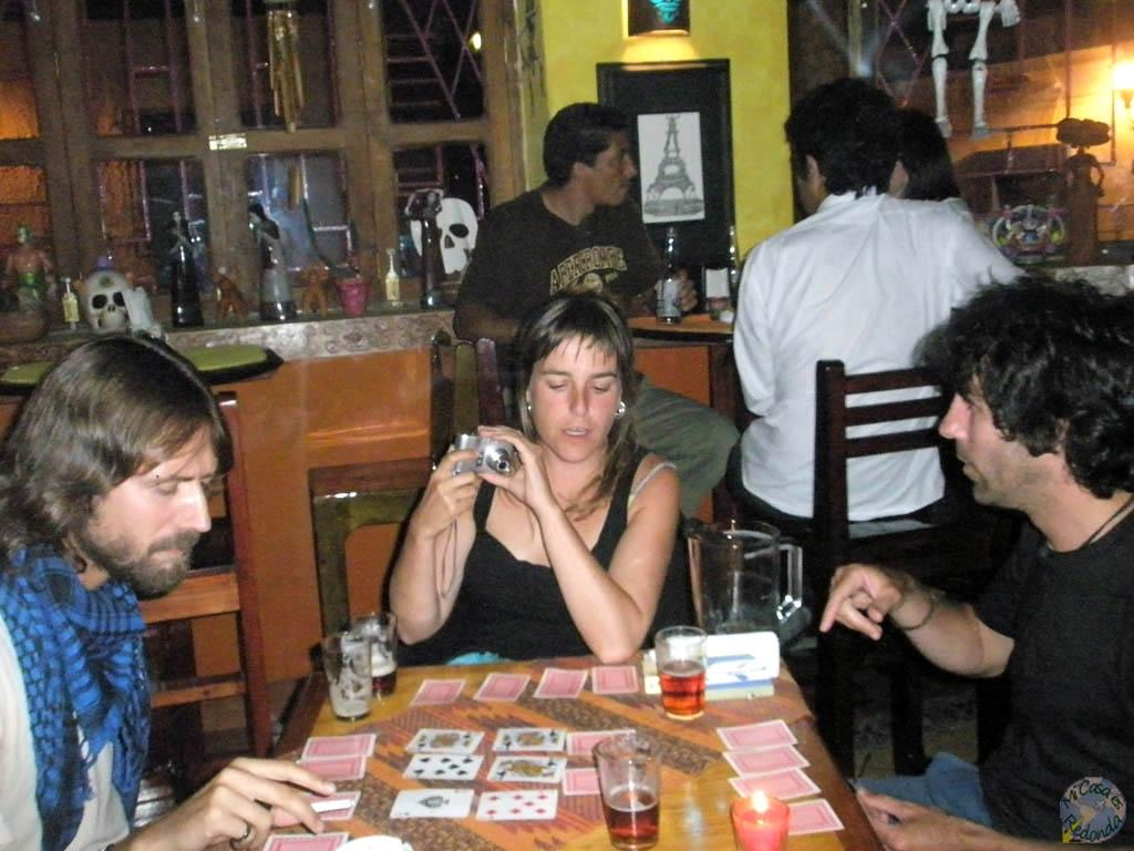 Jugando a la Pirámide en San Cristobal todos pierden. Pero yo el que más