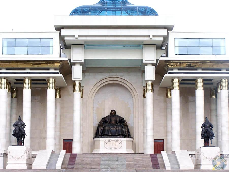 El temible Genghis Khan