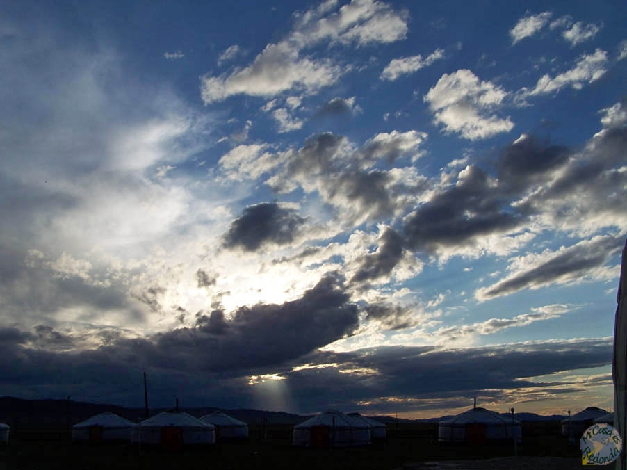 Increíbles cielos mongoles