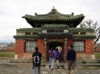 Visitando los templos