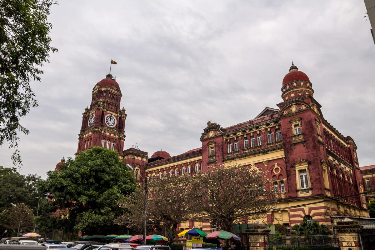 Tribunal Supremo, Yangon