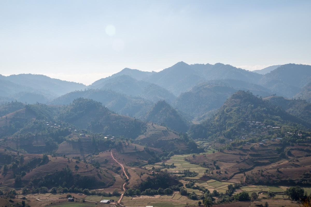 Los pueblos en los valles