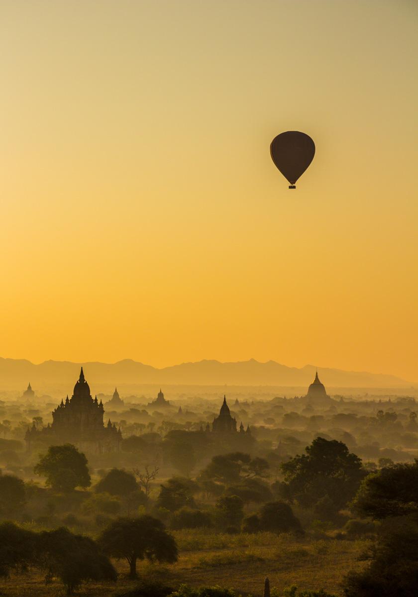 Templos y brumas, Bagan