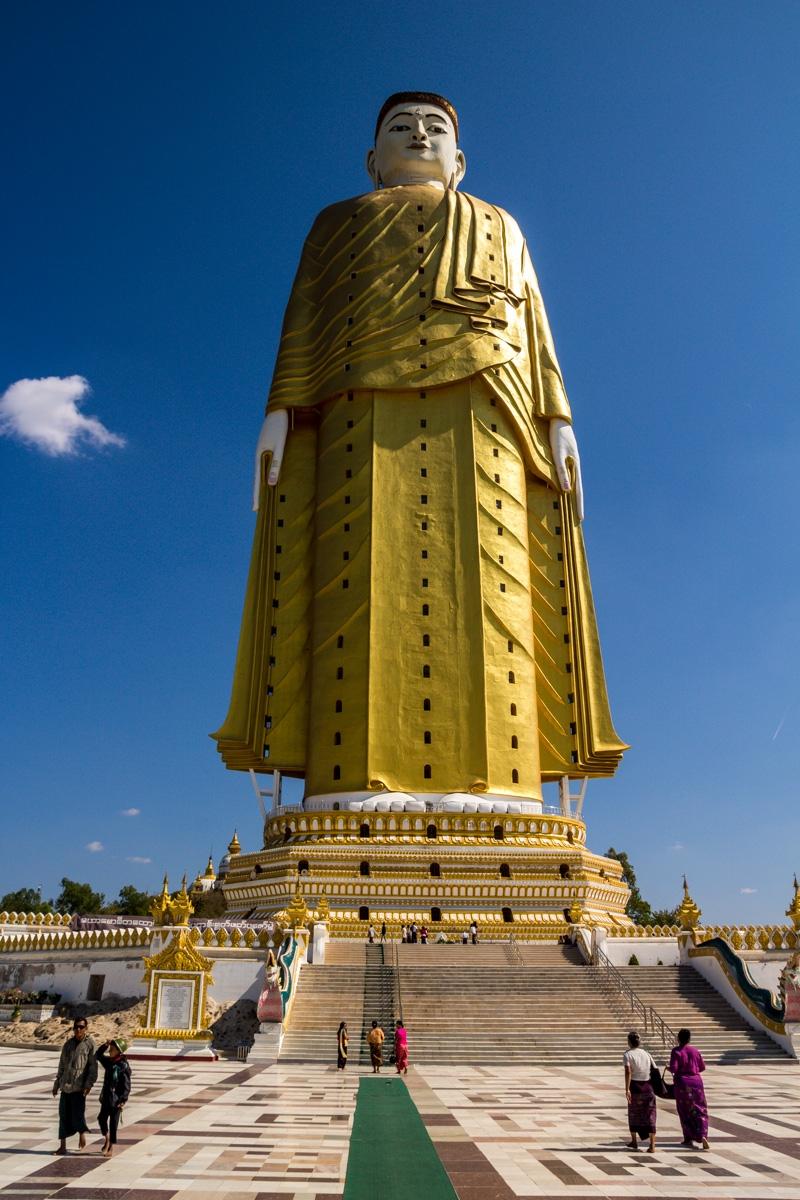 Maha Bodhi Ta Htaung, el segundo buda más alto del mundo
