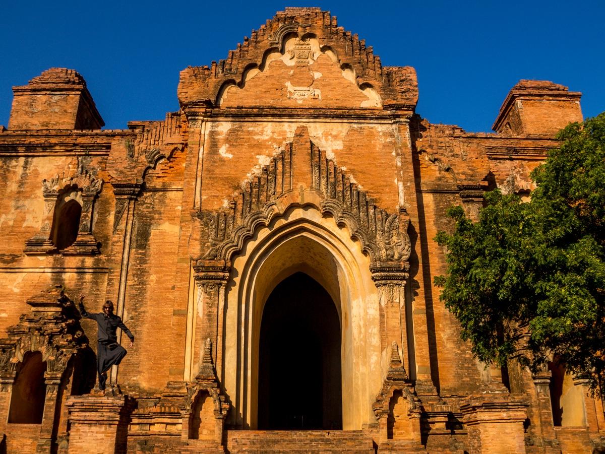 Haciendo el flamenco en Bagan
