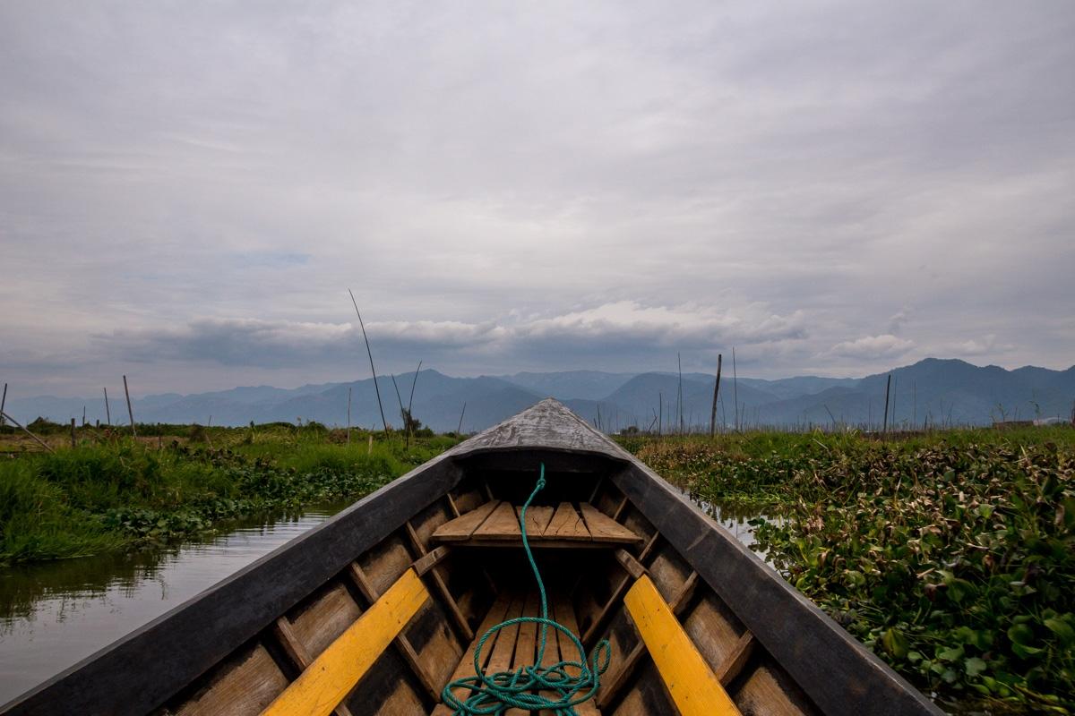 Las huertas del Lago Inle