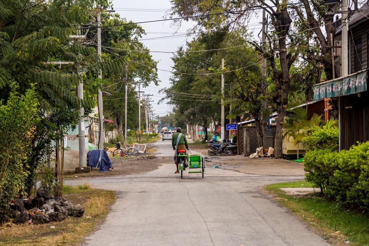 Calles de Nyaungshwe, Lago Inle