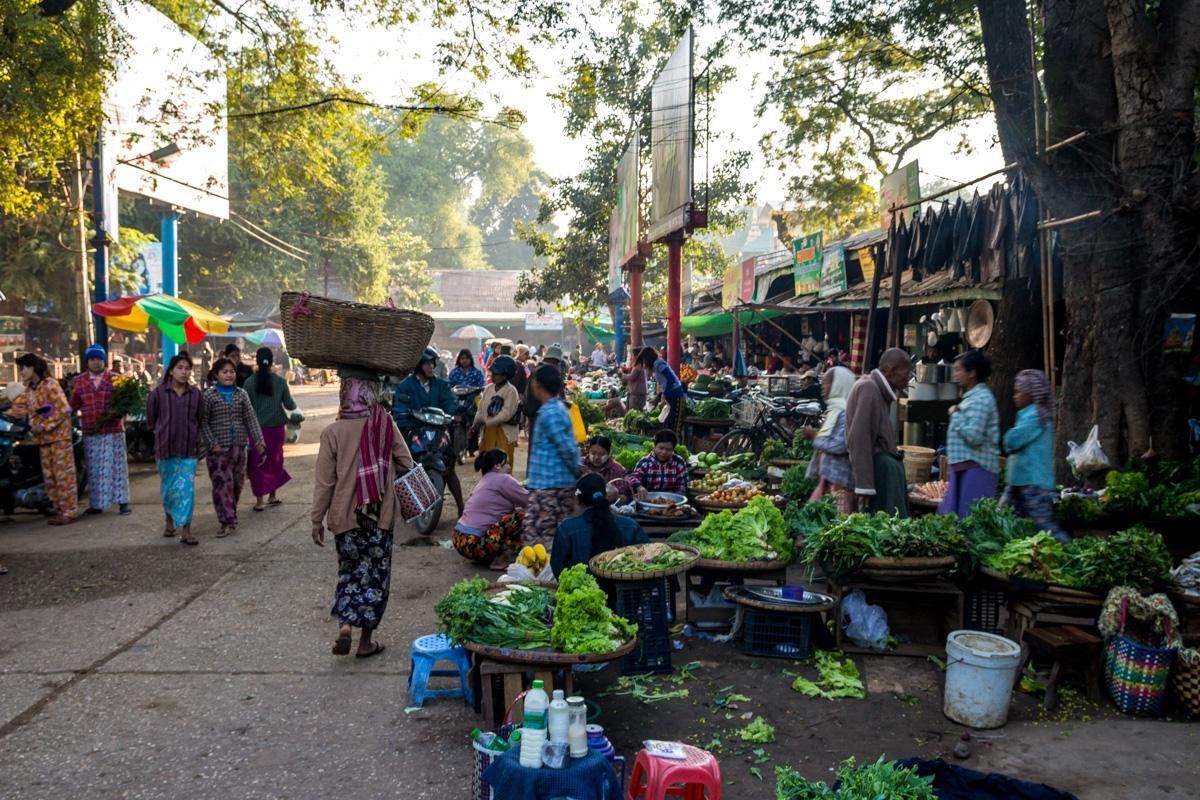 Mercado de Pakokku