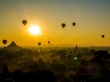 Amanecer perfecto en Bagan