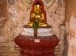 Decoración interior en los templos de Bagan