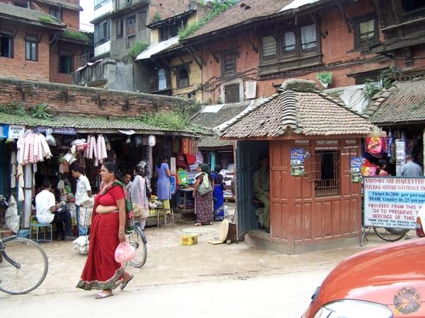 Calles de Patan