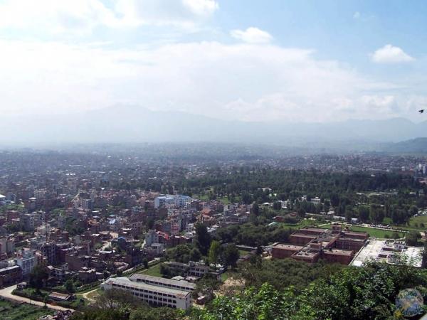 Panorámica de Katmandú