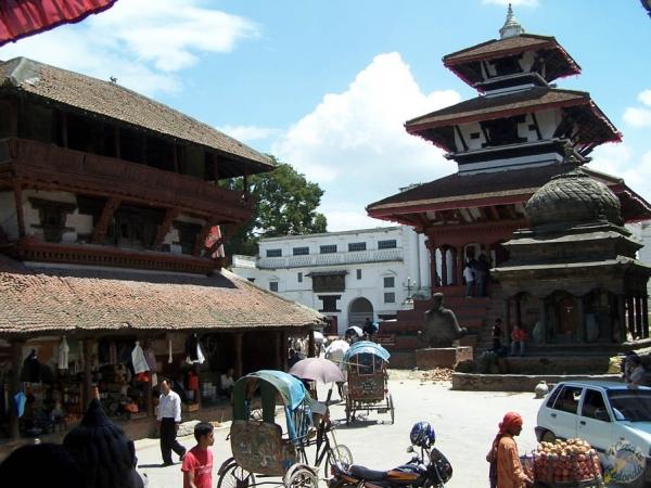 Plaza Durbar de Katmandú