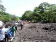 Corrimiento de tierra en Ometepe