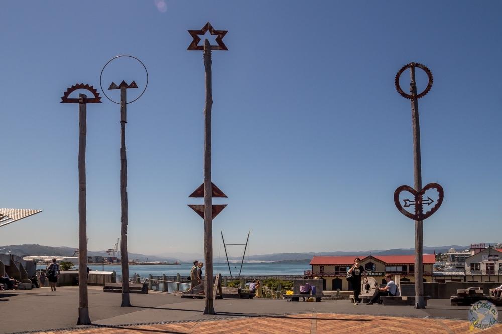 Esculturas Maoríes, Wellington