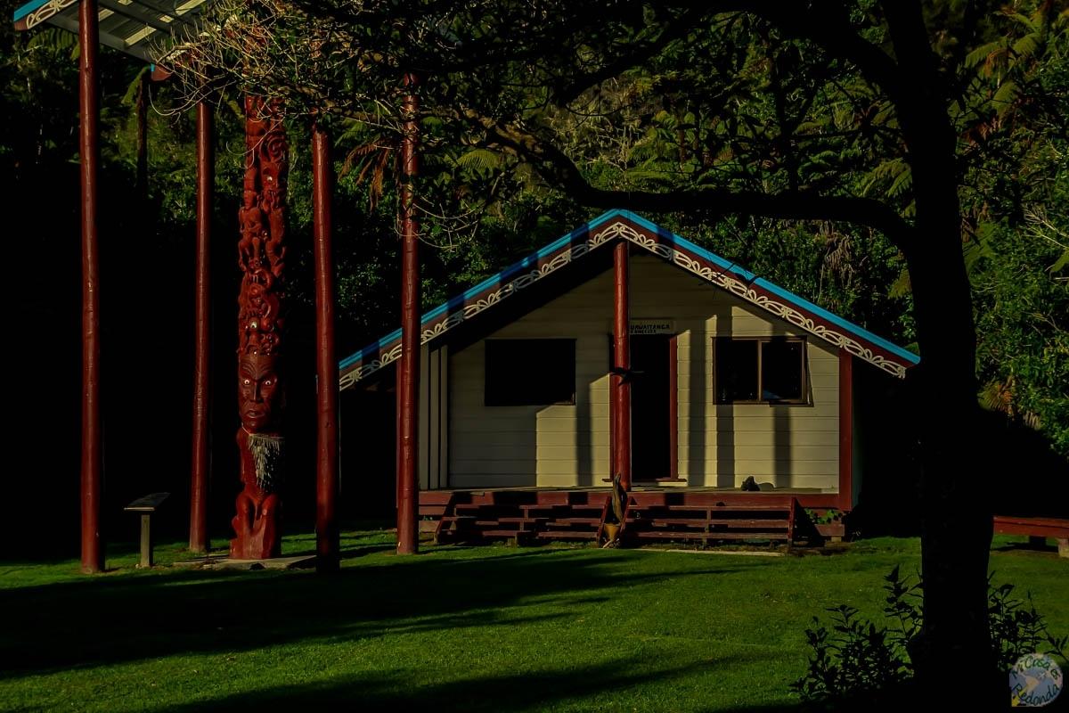 La marae del Tieke Kāinga, Whanganui Journey