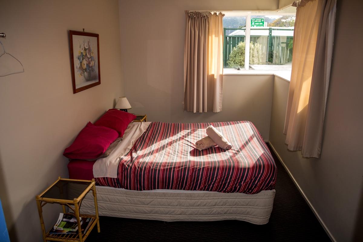 Habitación del Fat Cod, en Picton