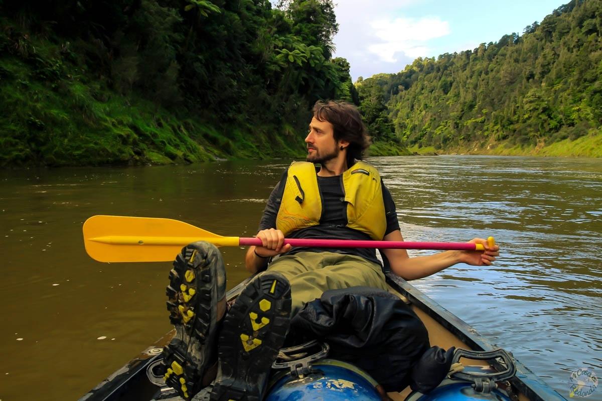 Qué duro es remar! Whanganui Journey