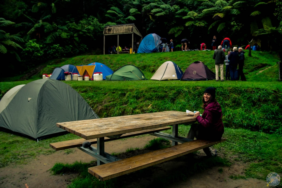 John Coull Campsite, Whanganui Journey