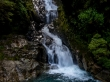 Cascadas en el camino a Milford Sound