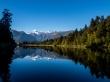 Increíble reflejo en Mirror Lake, Westland