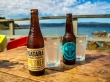 Cervecitas en Scorching Bay, Wellington