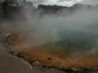 Los vapores no dejan ver, Wai-O-Tapu, Rotorua