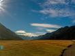 Paisajes de la isla Sur de Nueva Zelanda