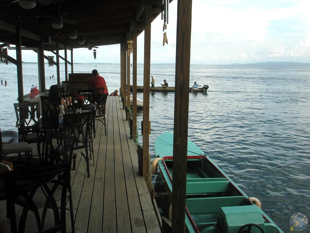 Bar donde desayunábamos, Bocas del Toro