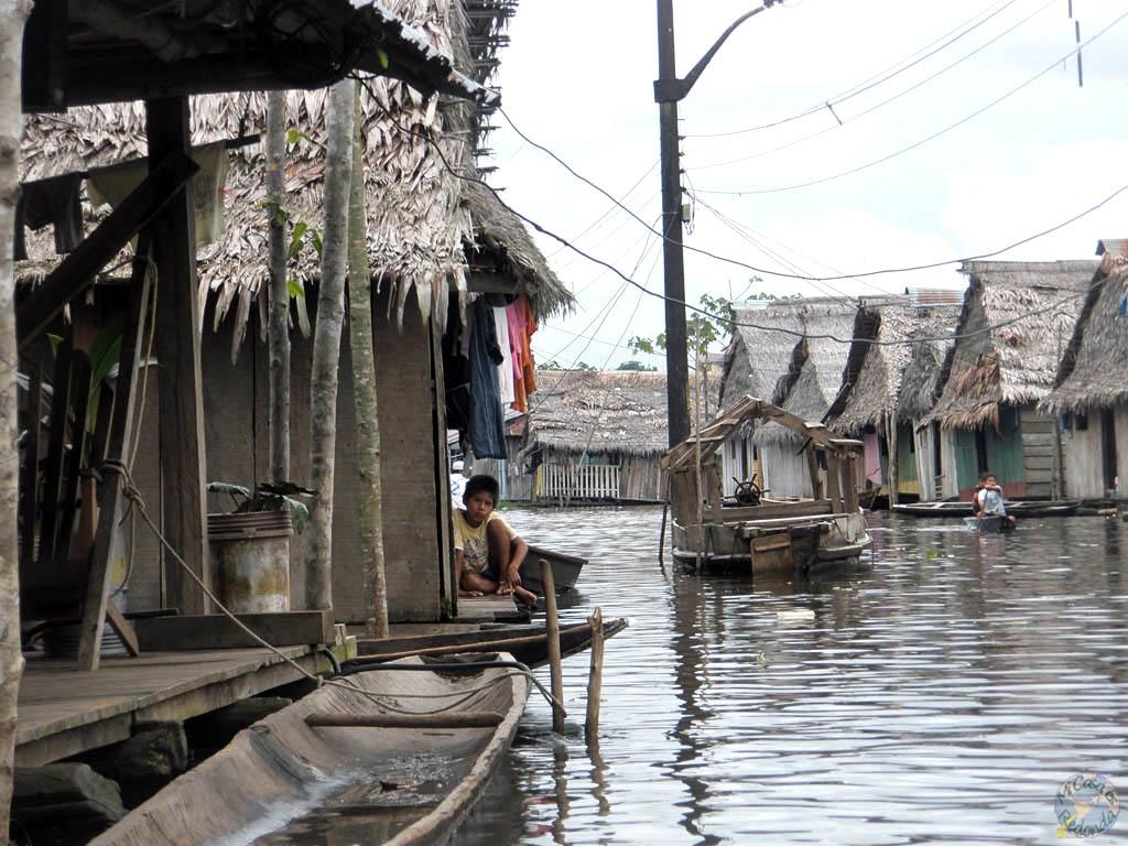 Entre los canales de Iquitos