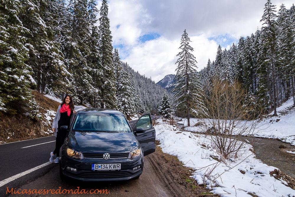 Nuestro coche en Rumanía, barato y poco gastador