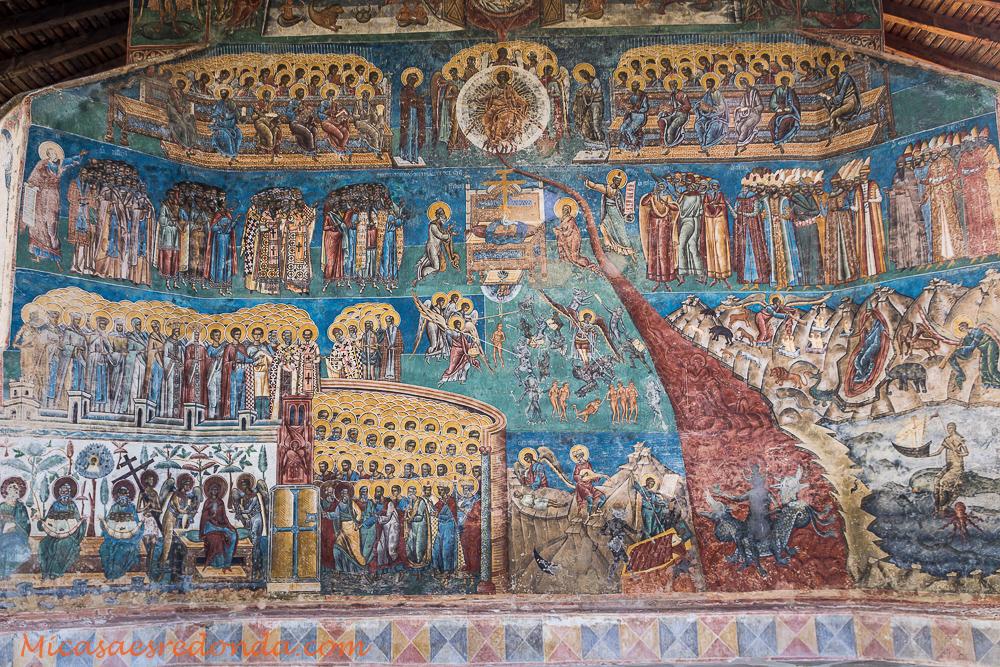 Iglesia pintada del Monaterio de Voronet