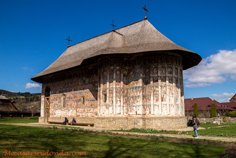 Iglesia pintada del Monasterio de Humor