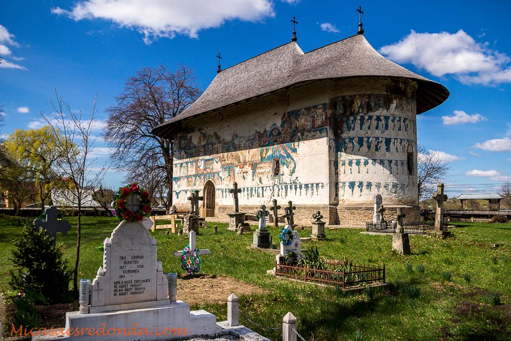 Iglesia pintada de Arbore, Bucovina