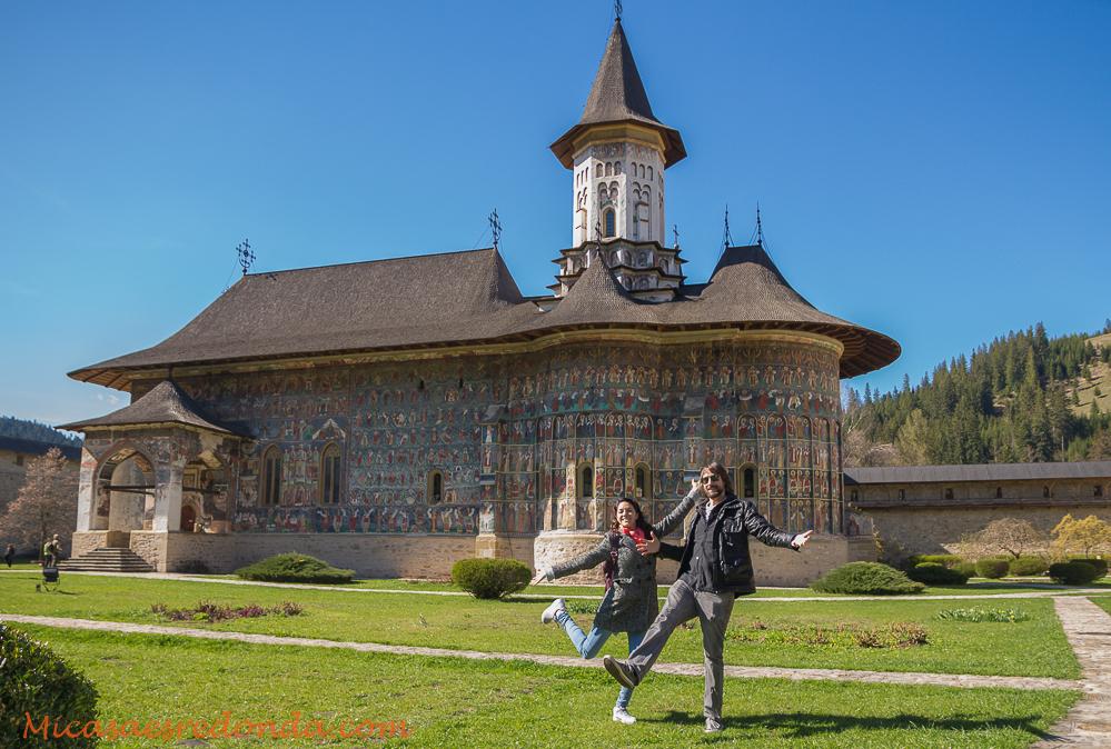 Iglesia pintada del monasterio de Sucevita