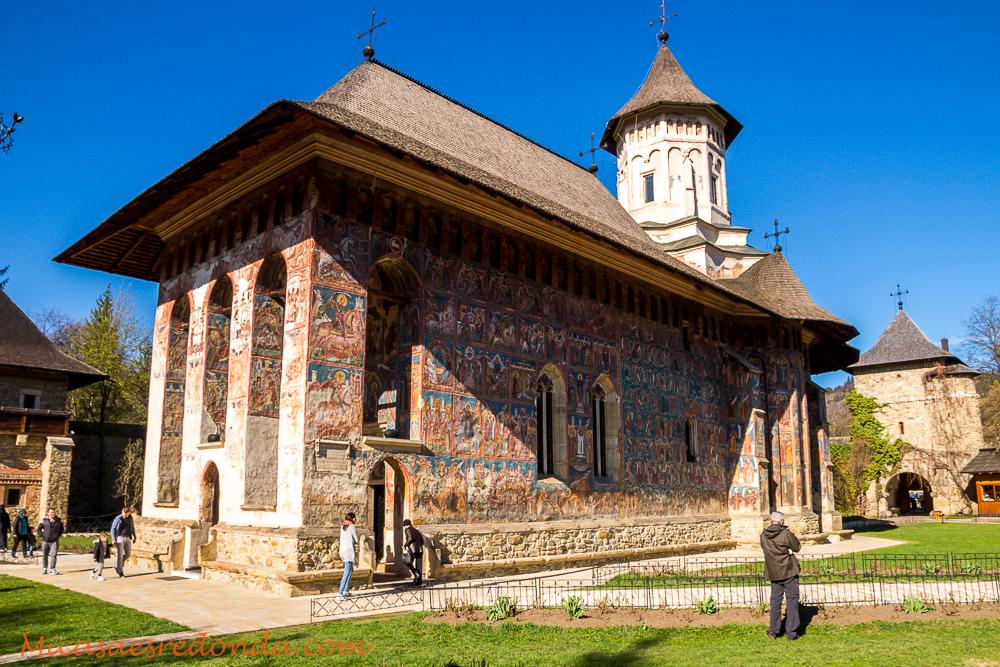 Iglesia pintada del monasterio de Moldovita